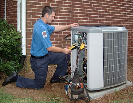 Residential HVAC service and installation by Rockwall AC Repair.