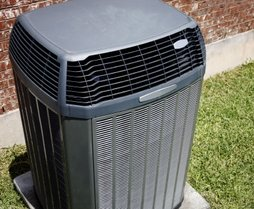Residential Air Conditioning Unit.